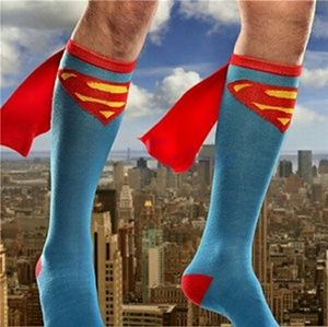 Other - Superman cape socks